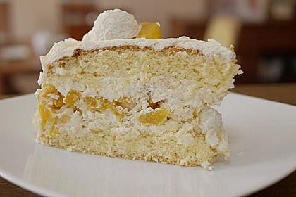 Pfirsich - Raffaello - Torte 17