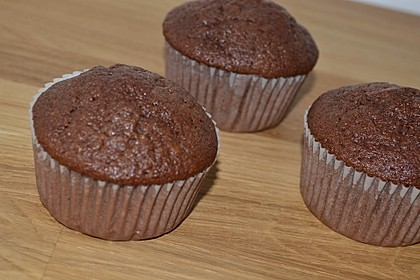 schokoladen muffins oder schokoladenkuchen rezept mit bild. Black Bedroom Furniture Sets. Home Design Ideas