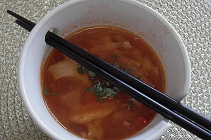 Asiatische Kohlsuppe 7
