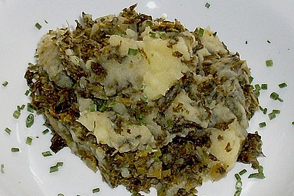 Grünkohl - Kartoffel - Topf
