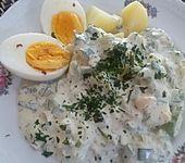 Frankfurter Grüne Soße mit Eiern und Kartoffeln (Bild)