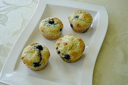 Blueberry - Sauerrahm - Muffins 8