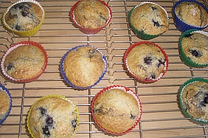 Blueberry - Sauerrahm - Muffins 37