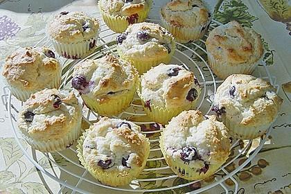 Blueberry - Sauerrahm - Muffins 3