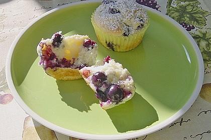 Blueberry - Sauerrahm - Muffins 2