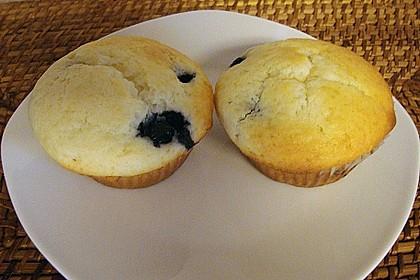Blueberry - Sauerrahm - Muffins 35