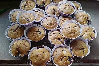 Blueberry - Sauerrahm - Muffins 25