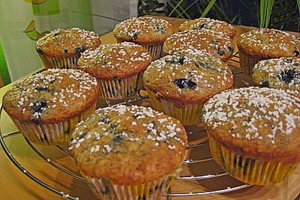 Blueberry - Sauerrahm - Muffins 30