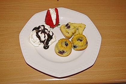 Blueberry - Sauerrahm - Muffins