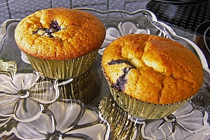 Blueberry - Sauerrahm - Muffins 27
