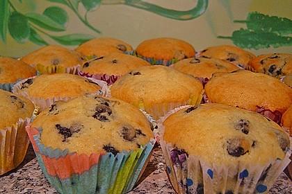 Blueberry - Sauerrahm - Muffins 18