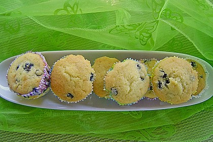 Blueberry - Sauerrahm - Muffins 12