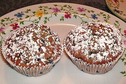 Blueberry - Sauerrahm - Muffins 16