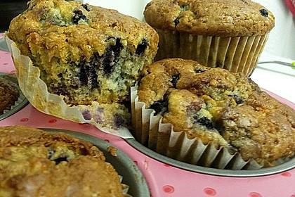 Blueberry - Sauerrahm - Muffins 36