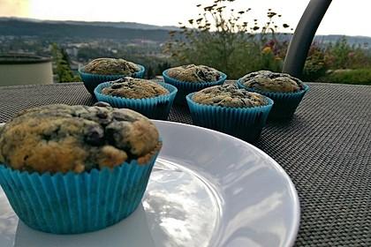 Blueberry - Sauerrahm - Muffins 6