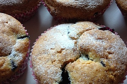 Blueberry - Sauerrahm - Muffins 4