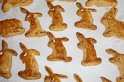 Blätterteig - Hasen