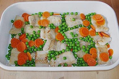 Fisch - Auflauf mit Kartoffelkruste 4