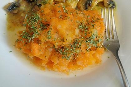 Süßkartoffelpüree - Whipped Sweet Potatoes 6