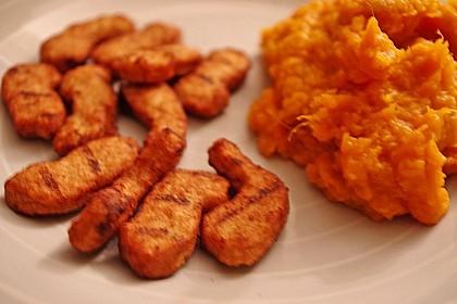 Süßkartoffelpüree - Whipped Sweet Potatoes 4