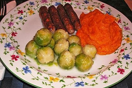 Süßkartoffelpüree - Whipped Sweet Potatoes 1