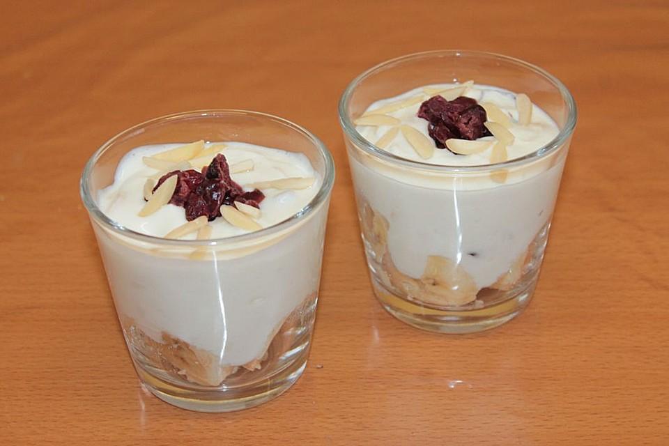 cranberry creme dessert rezept mit bild von mima53. Black Bedroom Furniture Sets. Home Design Ideas