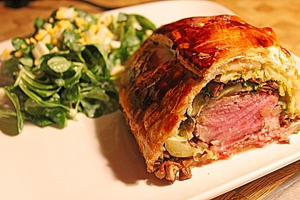 Schweinefilet Wellington 0