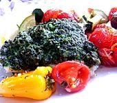 Gemüse - Fisch - Pfanne
