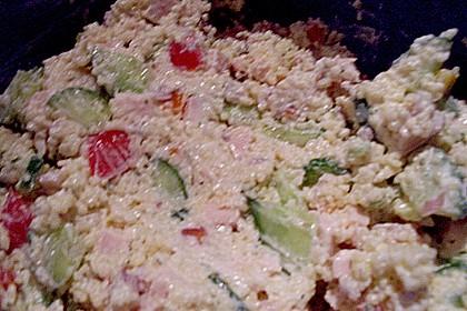 Kickys CousCous - Salat