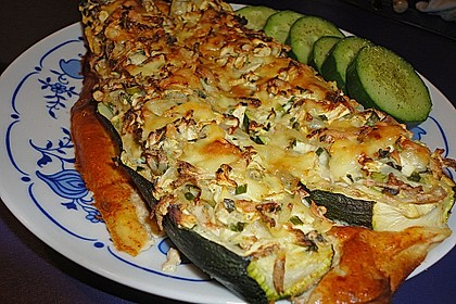Gefüllte Zucchini 14