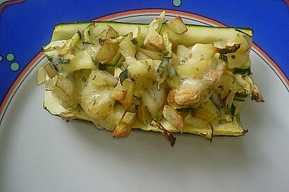 Gefüllte Zucchini 4