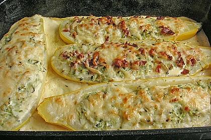 Gefüllte Zucchini 11