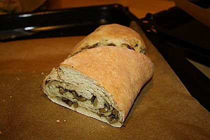 Gefülltes Brot