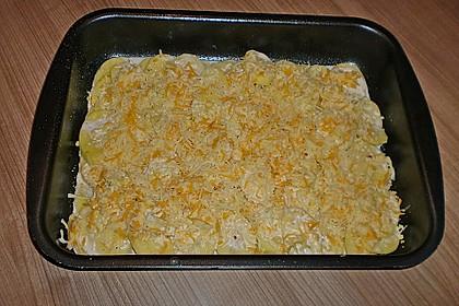 Kartoffelgratin 2