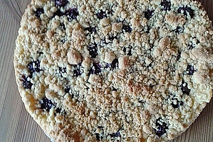 Kirschkuchen mit Streuseln (Bild)