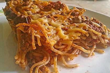 Überbackene Spaghetti 2