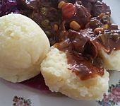 Kartoffelklöße halb und halb, nach Oma Johanna
