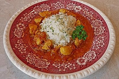 Hähnchen - Curry 1
