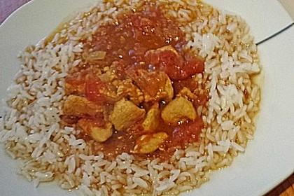Hähnchen - Curry 8