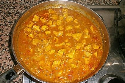 Hähnchen - Curry 3