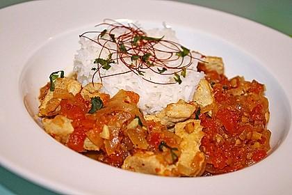 Hähnchen - Curry
