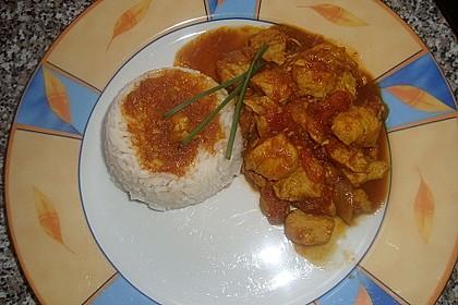 Hähnchen - Curry 9
