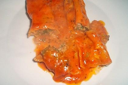 Spinat - Hackfleisch - Cannelloni 1