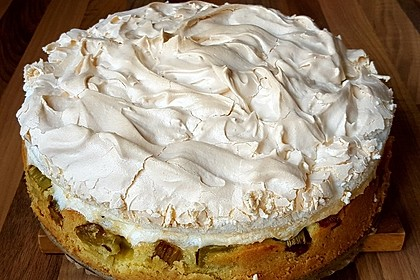 Rhabarber - Baiser - Kuchen 22