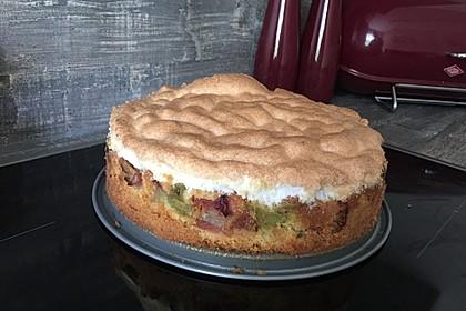 Rhabarber - Baiser - Kuchen 42