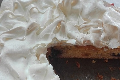 Rhabarber - Baiser - Kuchen 26