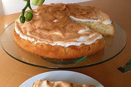 Rhabarber - Baiser - Kuchen 14