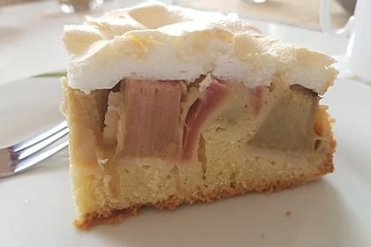 Rhabarber - Baiser - Kuchen 6