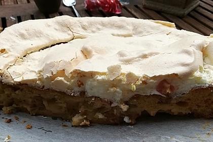 Rhabarber - Baiser - Kuchen 71