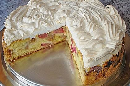 Rhabarber - Baiser - Kuchen 2